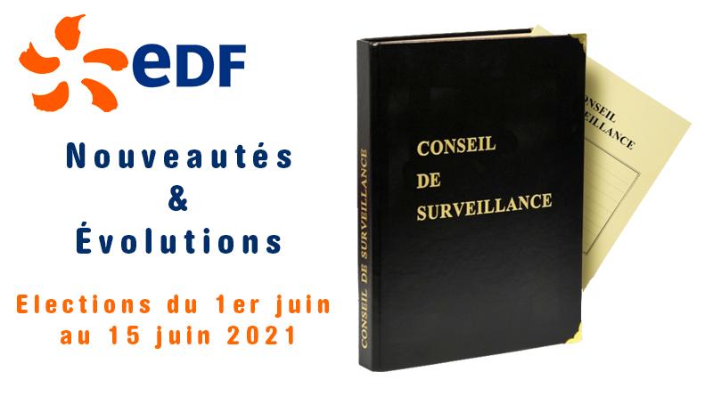 Elections FCPE EDF 2021…Nouveautés et évolutions