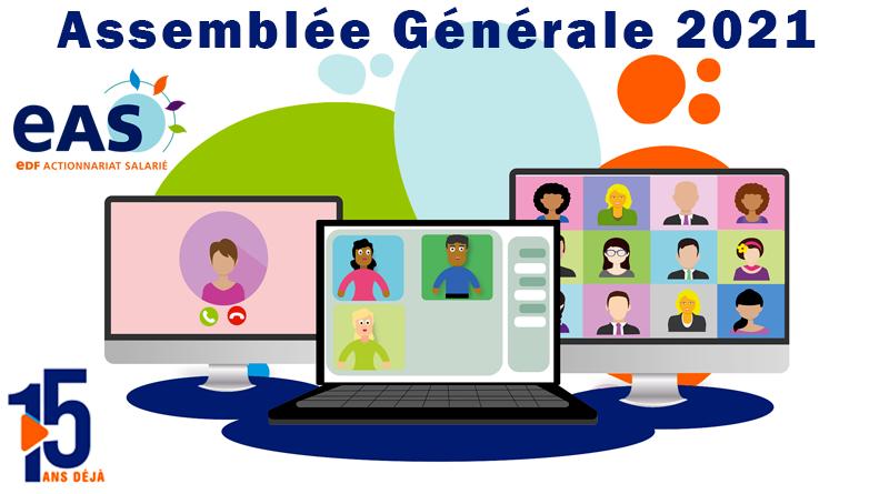 EAS – Assemblée Générale 2021 en ligne le 30 avril 2021